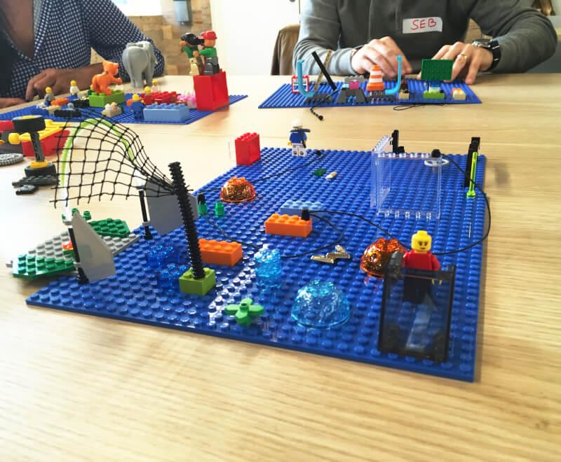 Cas client Idéation - Sony Playstation France - HandsOnBrain, méthodologie Lego Serious Play à Paris et en province