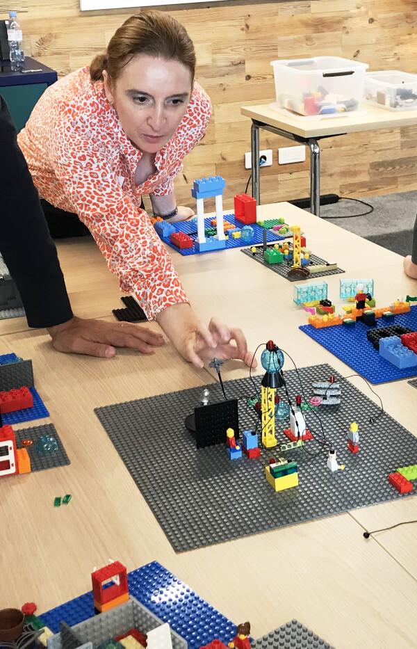 HandsOnBrain, Lego Serious Play à Paris et province